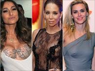 Siliconadas: veja antes e depois de famosas que aumentaram o volume do seio