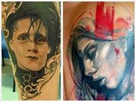 Fotos de tatuagens: estilo tribal, oriental, old school e outras